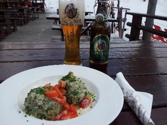 Baita Panorama Hütte: Lunch at Panorama
