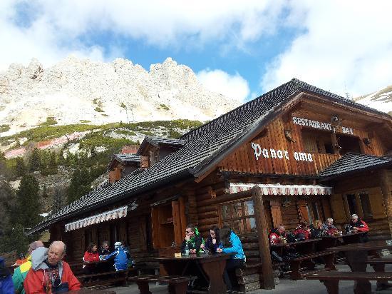 Baita Panorama Hütte: Panorama Restaurant