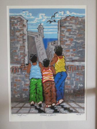 Estudio de Arte Samuel Lind: The three sons of Samuel Lind at El Morro