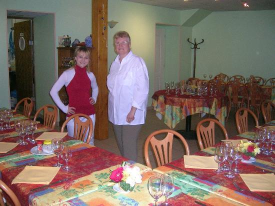 Restaurant La Cassolette : la cassolette salle et personnel