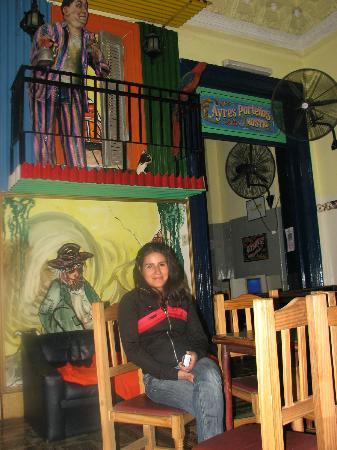 Ayres Portenos Hostel: in the looby