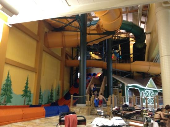 Great Wolf Lodge: Great Slides