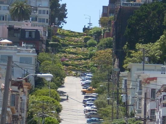 Russian Hills Picture Of San Francisco California