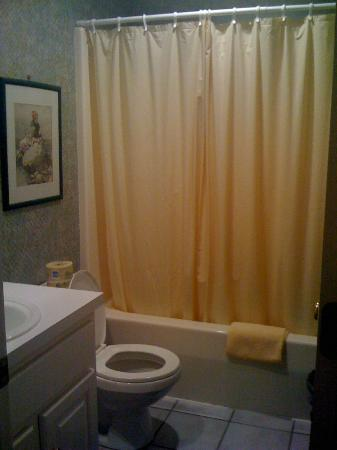Bradford Inn: The bathroom