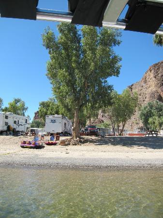 Echo Lodge Resort: campsite