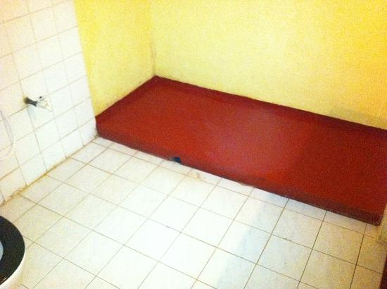 Seaview Deepal Villa: Dirty bathroom with hole