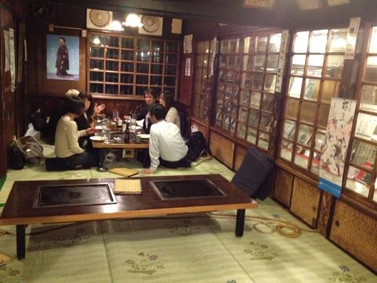 Asakusa Okonomiyaki Sometaro : interior