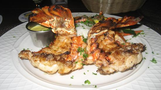 Pinchos Grill & Bar: Twin Lobster Tails