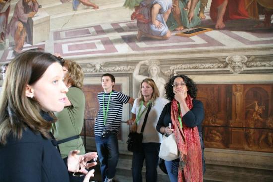 Presto Tours: TIffany on tour