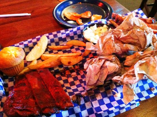 Famous Dave's Barbeque: The aftermath...