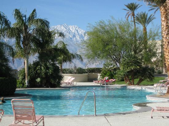Miracle Springs Resort and Spa: Miracle Springs Hotel and Spa Mountain view from the pool