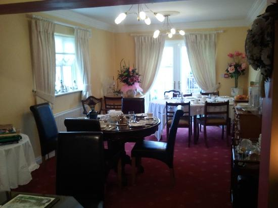 Laois County Lodge: Very charming dining room