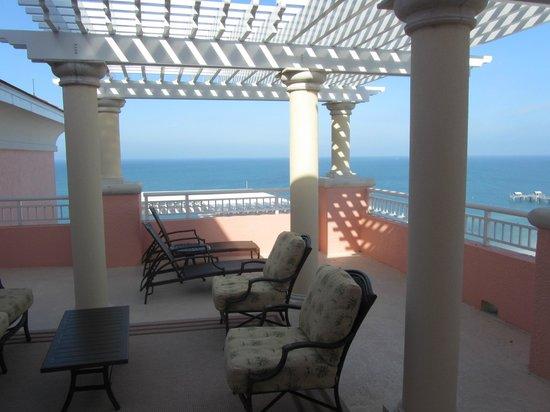 Hyatt Regency Clearwater Beach Resort & Spa: terrace
