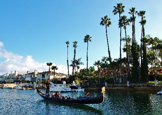 Gondola Boat Ride Newport Beach Ca