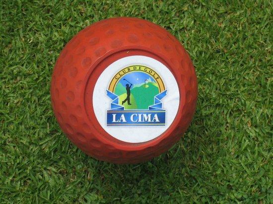 La Cima Golf Club: La Cima, 3100 m hoch