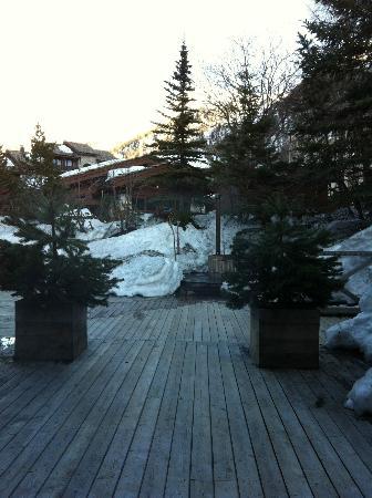 Hotel Le Blizzard: Espace piscine, bain chaud