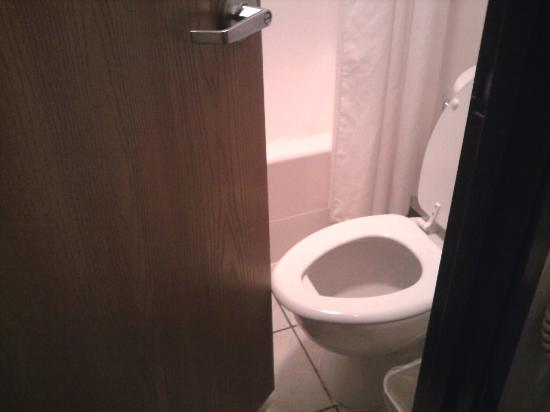 Americas Best Value Inn Green River: Can't close without lifting the seat