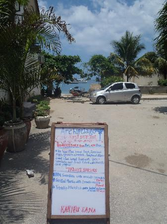 Archipelago restaurant in Stone City