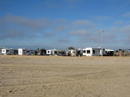 Bolsa Chica State Beach Looking Towards Campground From