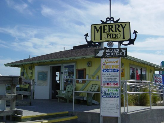Front Of Merry Pier