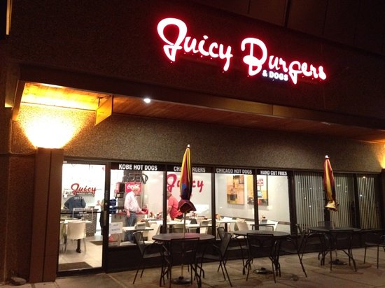 Photo of American Restaurant Juicy Burgers & Dogs at 6830 S Yosemite St, Centennial, CO 80112, United States