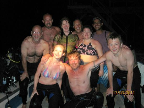 Mango Inn Resort: Night Dive Success!!