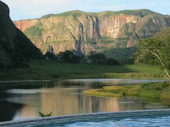 Bermejo, Bolivia: Atardeser de pelicula