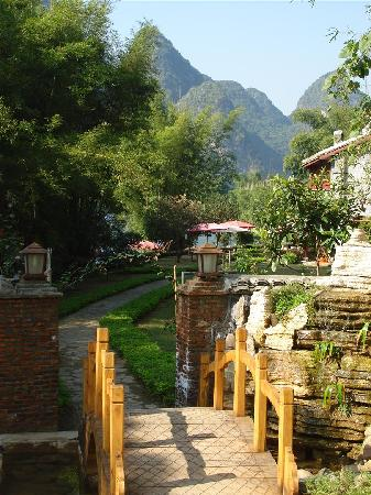 Entrance, Yangshuo Mountain Retreat, Yangshuo China