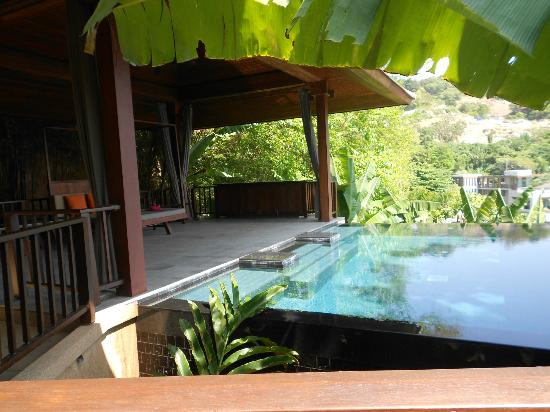 Paresa Resort Phuket: private pool, cliff pool villa