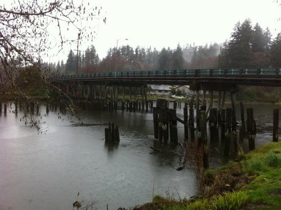 Kurt Cobain Memorial Park: the bridge