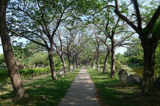 Langkawi Legend Park: Garden view