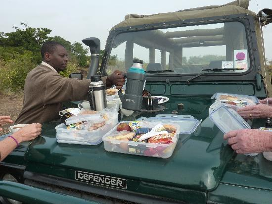 Mara Intrepids Club: Picknick am Mara River