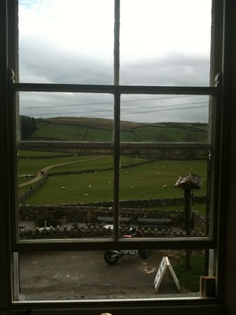 Appletreewick, UK: the view from room 2 x