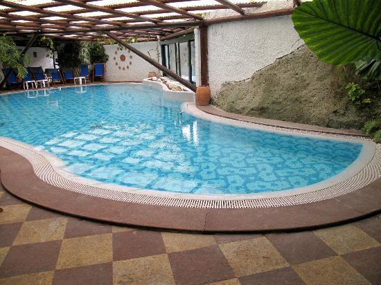 Hotel Parco Maria Terme: piscina termale al chiuso