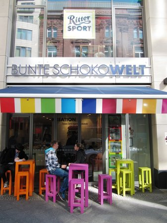 Ritter Sport Bunte Schokowelt