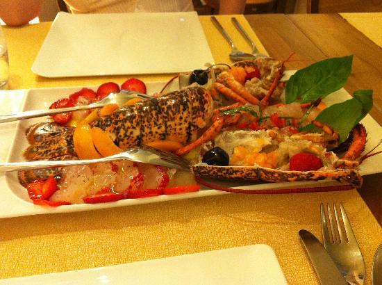 Tavernetta A Scuea : Astice crudo nostrano