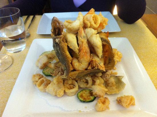 Tavernetta A Scuea : Frittura di pesce