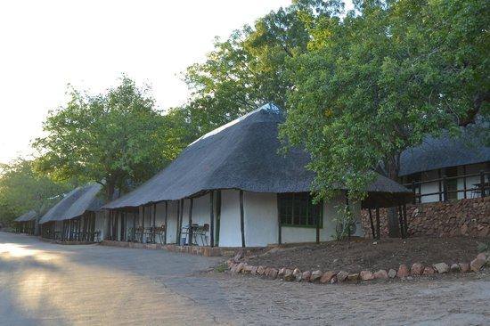 Original 1934 bungalows, Punda Maria Restcamp