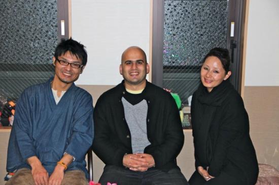 Family Inn Saiko: Nicholas with us on our last day
