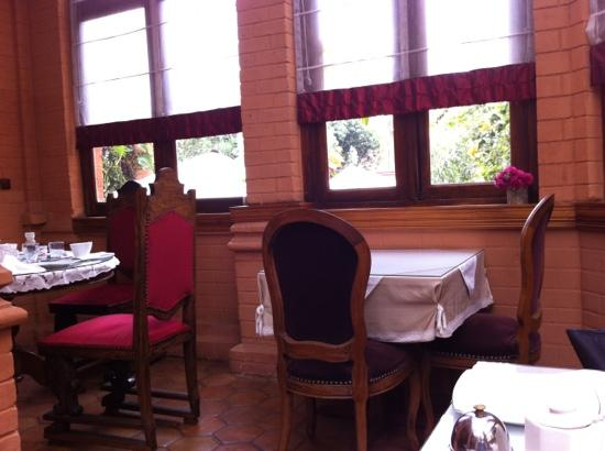 Le Pavillon de l'Emyrne: Frühstücksraum
