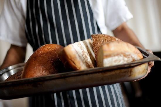 Pyne's at The Bedford Hotel: Home baked bread