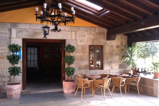Hotel Cuevas I-II: Terraza