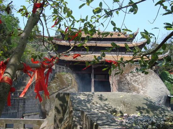 Hechuan Laitan Ancient Town: temple