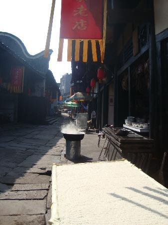 Hechuan Laitan Ancient Town : the main street