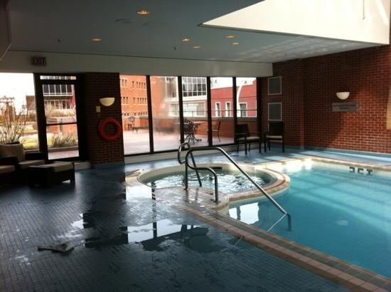 another view of the pool prince george hotel halifax. Black Bedroom Furniture Sets. Home Design Ideas