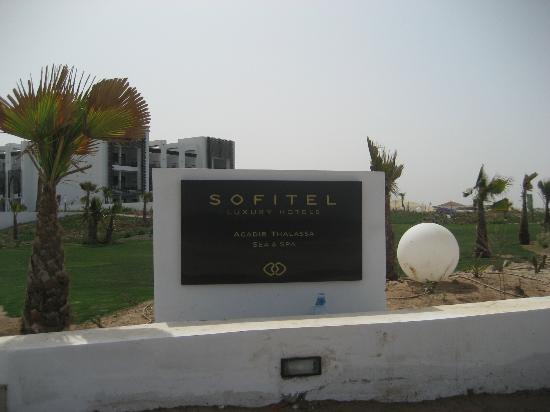 Hôtel Sofitel Agadir Thalassa Sea & Spa: entrée plage