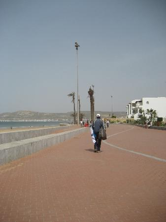 Sofitel Agadir Thalassa Sea & Spa: promenade