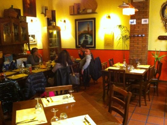 Marghera, إيطاليا: sala ristorante