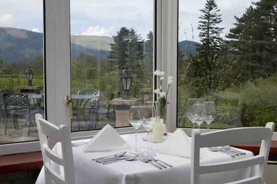 The Coach House Restaurant at Ravenstone Lodge: The view!