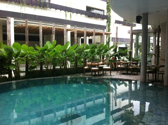 Grandmas Seminyak Hotel: View from first floor